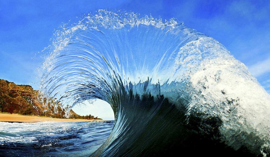poème vagues mer