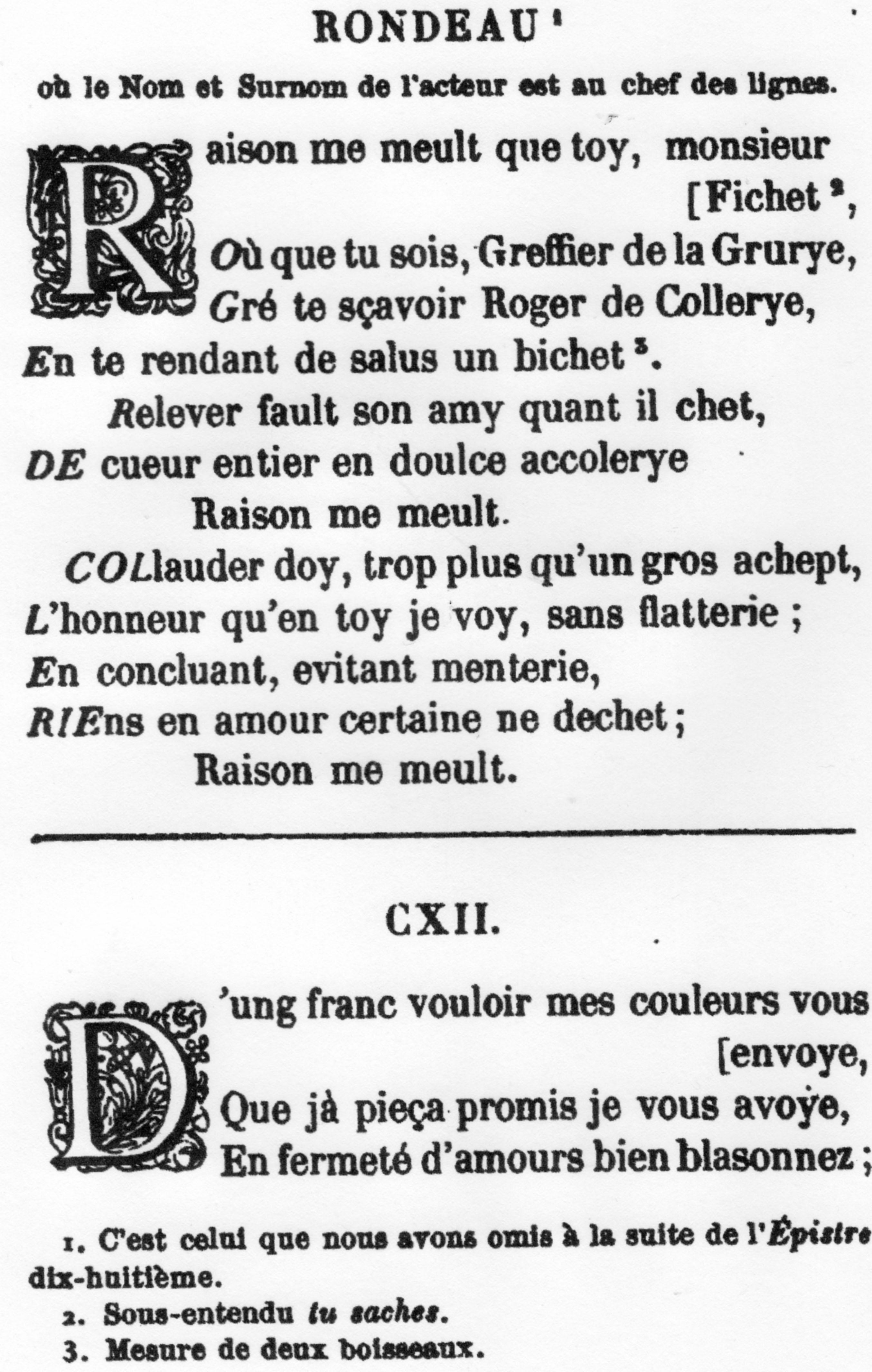 Un Poète Bohème Trouvère Du Xvième Siècle Roger Bontemps